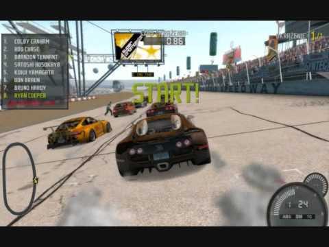 NFS pro street bugatti veyron race