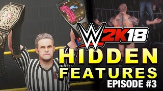 WWE 2K18 - HIDDEN FEATURES! (Awkward Entrance, Updated Batista, Titles & More YOU MIGHT NOT KNOW #3)
