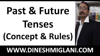 Best Concept and Rules to Past and Future Tenses ( English Grammar)