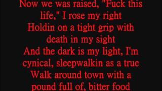 2pac - Last Muthafucka Breathin Lyrics