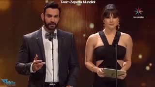 David Zepeda y Fabiola Guajardo presentan premio Mejor Actriz Protagónica de Serie en PTVyN 2017