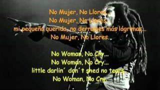 Bob Marley - No Woman, No Cry (+ Letra Ingles y Espa HD.mp4