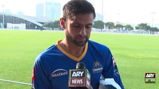 Shoaib Malik talks about PSL and his performance with ARY News
