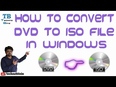 How To Convert DVD To ISO in Windows [Hindi]