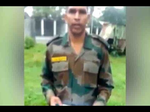 watch Now, army jawan complains about harassment by seniors