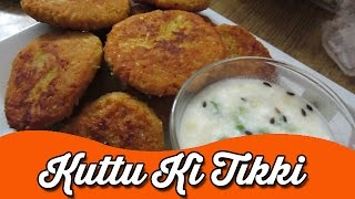 Kuttu Ki Tikki   Navratri Special Recipes