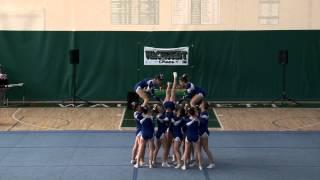 Attleboro High School Cheer - Fall States 2013