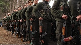 Behind the Scenes Kurdish Women Fighting ISIS ISIL Islamic State DAESH Breaking News April 2016