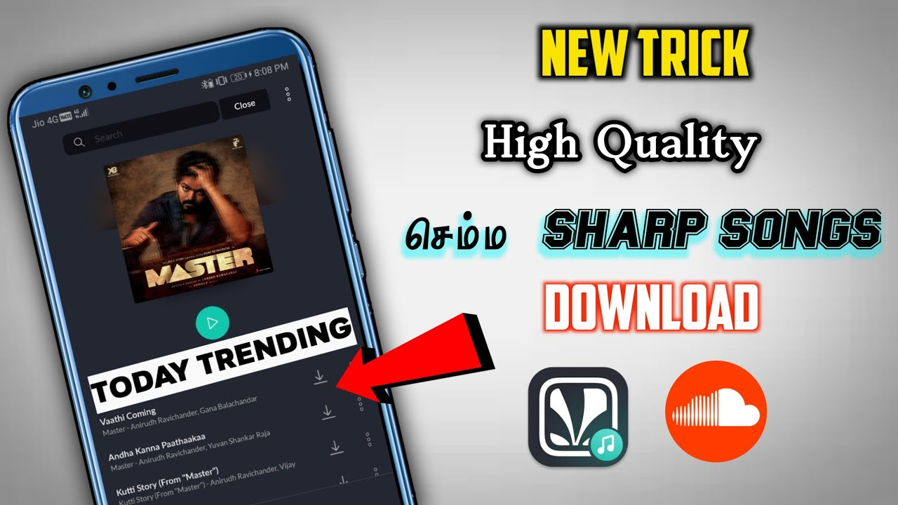 🔥 320Kbps செம Quality Songs Download Jiosaavn & SoundCloud mp3 songs    SkyTech Advise