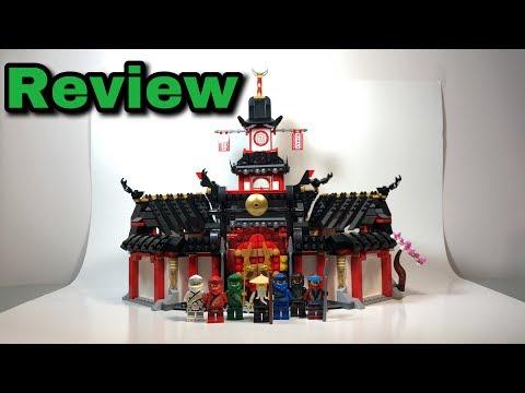 "Lego Ninjago 2019 ""Legacy"" 70670 Monastery of Spinjitzu Set Review !"