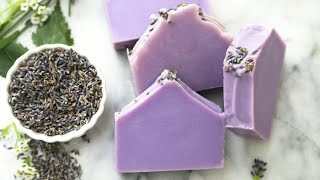 How to Make Natural Lavender Soap