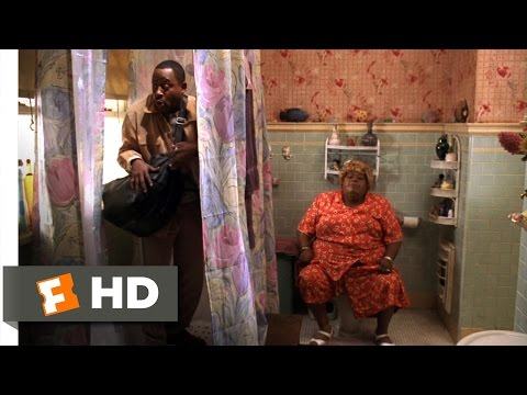 Big Momma's House (1/5) Movie CLIP - Trapped In the Bathroom (2000) HD