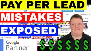 Pay Per Lead: Pay Per Lead Problems And Mistakes To Avoid 💲💲 (2019)