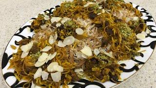 آموزش خوشمزه ترین غذایی که مادرم میپخت (رشته پلو آذری ) به سبک مادرم جوادجوادی