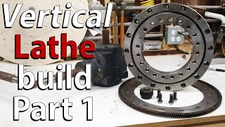 Homemade VERTICAL wood lathe PART 1 - PARTS, concept and introduction