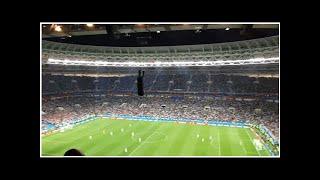 Cheeky England Try To Score A Goal From Kick-Off As Croatia Celebrate Semi Final Winner