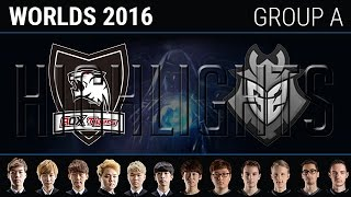 ROX Tigers vs G2 Esports Highlights, S6 World Championship 2016 Group A Day 3, ROX vs G2
