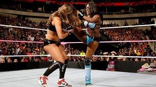 Nikki Bella & Alicia Fox vs. Naomi & Sasha Banks: Raw, October 19, 2015