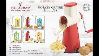Rotary Grater & Slicer