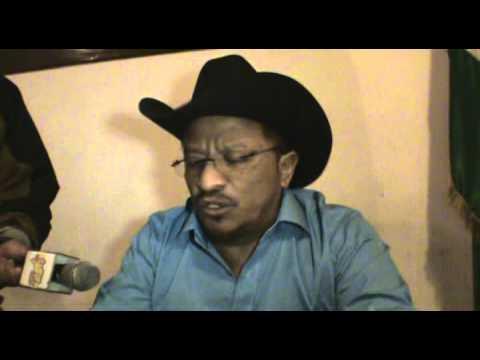 Alcalde San de San Juan Ixcoy brinda conferencia de prensa
