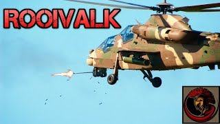 Rooivalk Attack Helicopter - South African Gunship