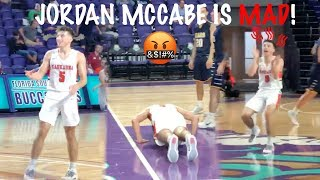 WHO IS JORDAN MCCABE MAD AT!? Flashy West Virginia Commit Drops 42!!
