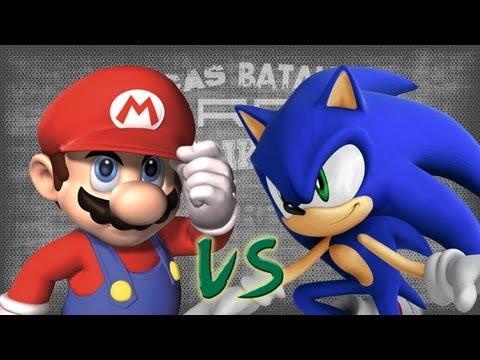Mario vs Sonic. Épicas Batallas de Rap del Frikismo Keyblade