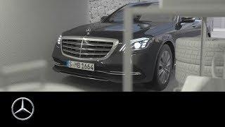 Mercedes-Benz S-Class 2017: Remote Parking Assist – Exploration mode – Getting into parking spaces