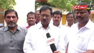 Adala Prabhakar Reddy Meets  Collector Mutyala Raju ||    ACT24X7HDNEWS