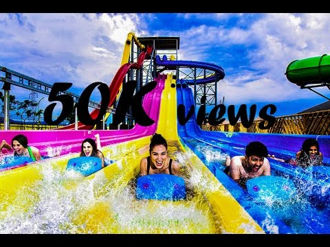 wet n joy waterpark LONAVALA | ASIA's LARGEST WATERPARK in INDIA with YI cam.