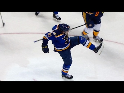 Tarasenko s second goal of the night gives Blues late lead