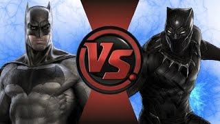 BATMAN vs BLACK PANTHER! Cartoon Fight Club Episode 113