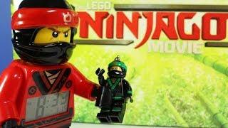 The LEGO NINJAGO MOVIE LLoyd Key Light and Minifigures