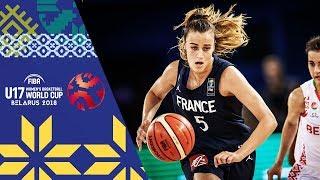 LIVE 🔴- Belarus v France - FIBA U17 Women's Basketball World Cup 2018
