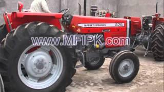 Massey Ferguson Tractor MF 375 S (2WD 75 Hp)