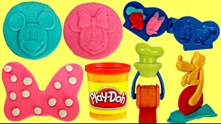Mickey Mouse Clubhouse, Friends Pals Play-doh Toy Mold Complete Set Surprise Minnie Pluto Goofy TUYC