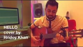 Hello is it me covered by hridoy khan