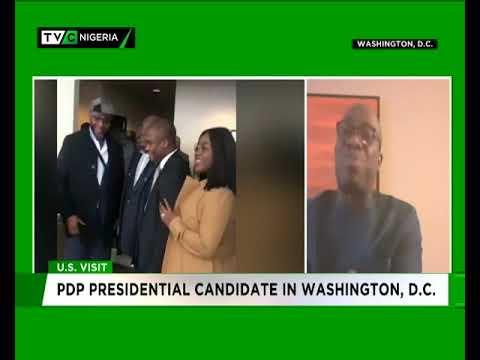 Segun Sowunmi speaks to TVC News on Atiku's visit to Washington, D.C.