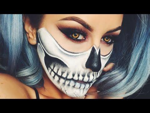 Halloween Skull Makeup Chrisspy