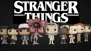 STRANGER THINGS Funko Pop Review FULL SET