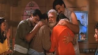 Pran encourages his Children    Panaah - Emotional Scene 15/16