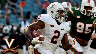Joe Reed Takes Top Off Miami D On 75-Yard TD Catch