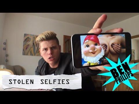 Ben Phillips | Stolen Selfies PRANK!!! - She has a cracking pair