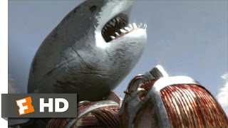 Mega Shark vs. Kolossus (9/10) Movie CLIP - Kolossus Throws Mega Shark into Space (2015) HD
