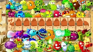 Every Plant Power-Up! vs Camel Zombies in NEW Plants vs Zombies 2