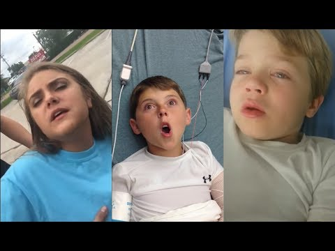 funny compilation of kids high on anesthesia