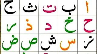 Lesson 1 Arabic Alphabets for Absolute beginners, Learn Quran Reading with Tajweed