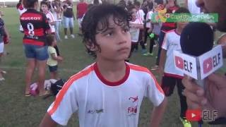 ESCOLINHA DO FLAMENGO 3X0 AMÉRICA F.C de Natal