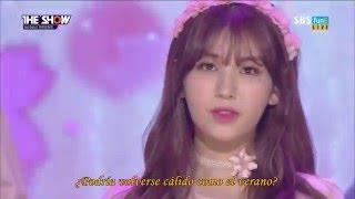 IOI (PRODUCE 101) - When The Cherry Blossoms Fade sub español
