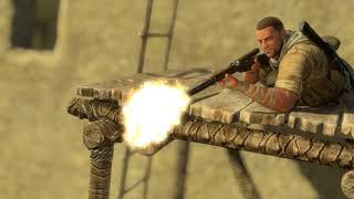 Sniper Elite 3 - Chap 5 Siwa Oasis: Observe & Tag Correct Officer Then Assassinate,